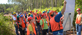 2018 Forestry Teacher's Tour